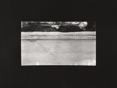Robert Rauschenberg, 'Postcard Self-Portrait, Black Mountain (II)', 1952; printed ca. 1989