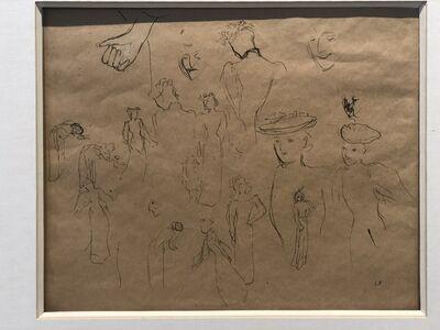 Édouard Vuillard, 'Etude de femmes', ca. 1890
