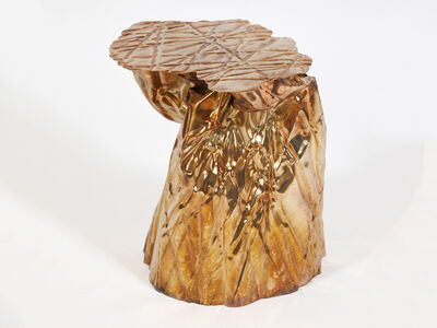 Christopher Prinz, 'Wrinkled Side Table', 2018