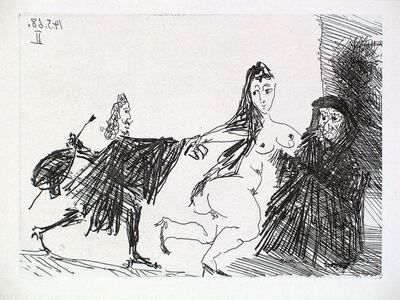 Pablo Picasso, 'La Célestine en Action: Le Pigeon', 1968