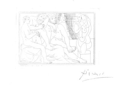 Pablo Picasso, 'Sculpteurs, Modèles et Sculpture, from La Suite Vollard (B. 149; Ba. 301)', 1933