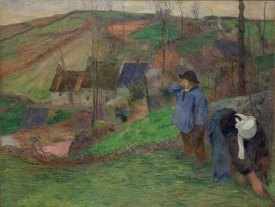 Paul Gauguin, 'Landscape of Brittany', 1888