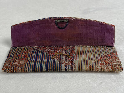 Unknown, 'Purple and Gold Chopstick Case ', Taisho Era (1912-1926)