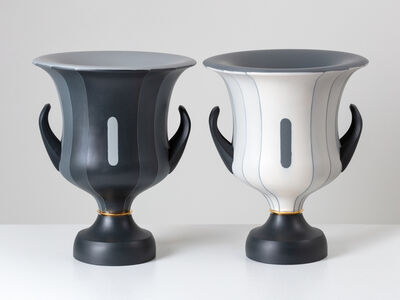 Peter Pincus, 'Pair of Calyx Krater inspired Vases, from the series 'One Shows Two, Two Influence Twenty' (pair)', 2018
