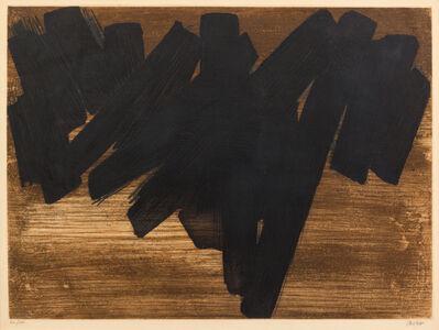 Pierre Soulages, 'Eau-forte V', 1956