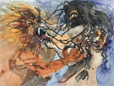 Stephan Goldrajch, 'Samson et le lion', 2018