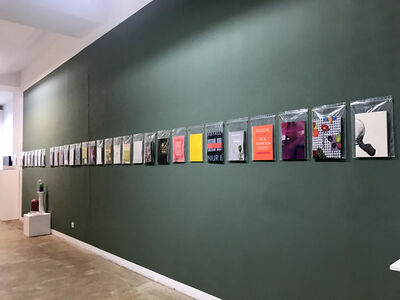 Nino Stelzl, '40 booklets', 2018