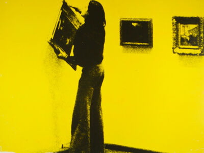 Ulay, 'There Is a Criminal Touch to Art (Berlin Action Series)', 1976
