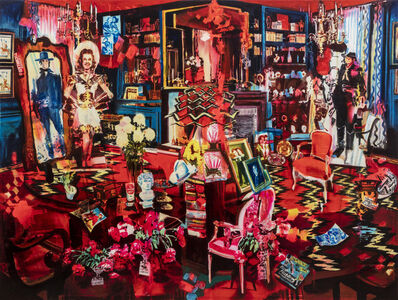Rosson Crow, 'Redecorating the Study', 2020