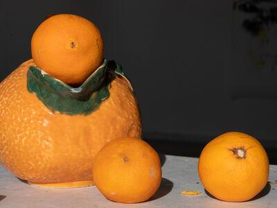 Absalon Kirkeby, 'Appelsiner 2', 2018