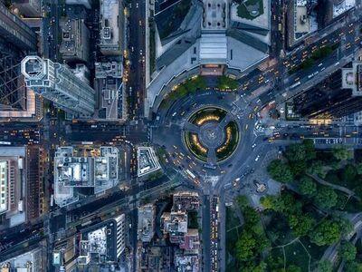 Jeffrey Milstein, 'NYC 16 Columbus Circle', 2015