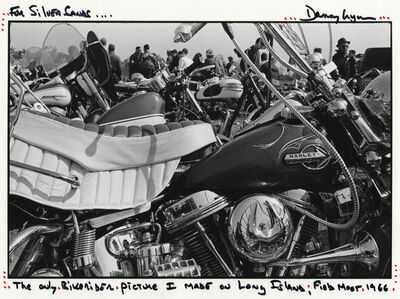 Danny Lyon, 'Field meet, Long Island, New York, from The Bikeriders', 1966