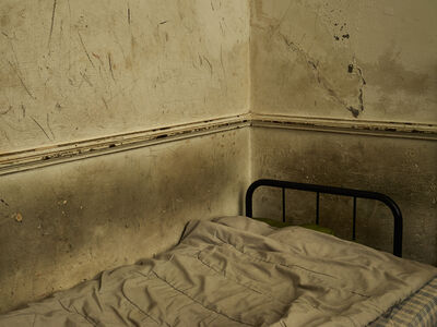 "Pieter Hugo, 'Inside Louis Matanisa's home, Cape Town, from the series ""Kin""', 2013"