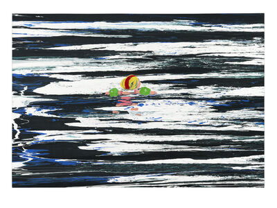 Cornelius Völker, 'Schwimmer', 1996
