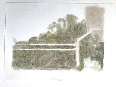 Giorgio Morandi, 'Wall With a Building', 1973