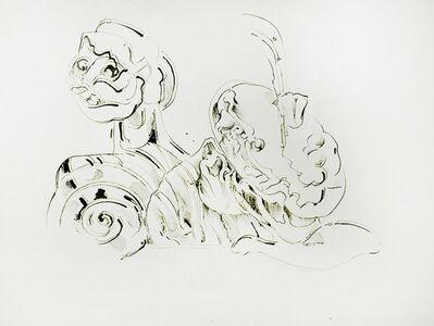 Kurt Seligmann, 'Untitled (Surrealist Study of a Head)', 1952