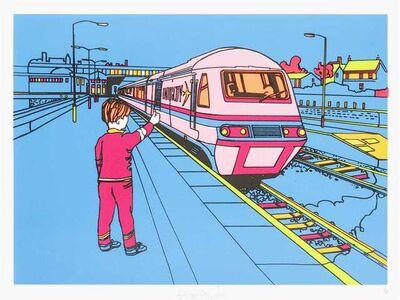 Ben Eine, 'Blue Train', 2006