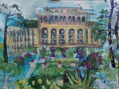 Norma de Saint Picman, 'Kempinski Palace Portorose, en face', 2019