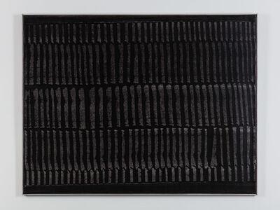 Heinz Mack, 'Schwarze Dynamische Struktur', 1963