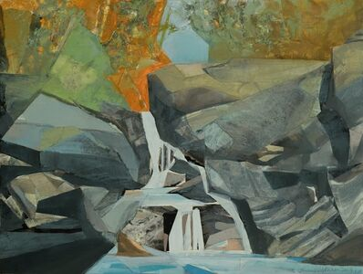 Mariella Bisson, 'A September Day at the Waterfalls', 2019