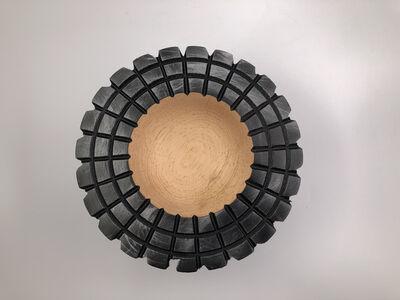 Luigi D'Amato, 'Square bowl', 2017