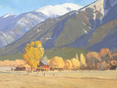 """G. Russell Case, '""""Taos Mountains in Autumn""""', 2017"""