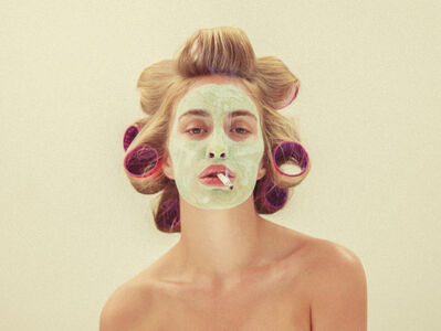 Tyler Shields, 'Claymask', 2014