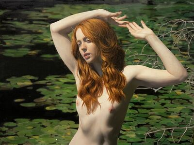 Yigal Ozeri, 'Untitled; Erna in the Water', 2020