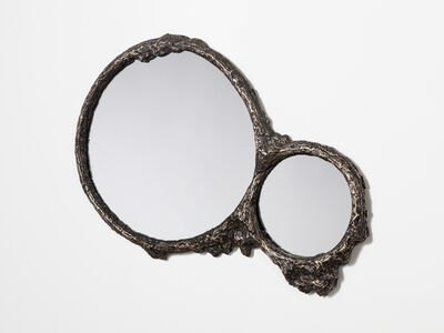 Steven Haulenbeek, 'Ice -Cast Bronze Double Mirror'