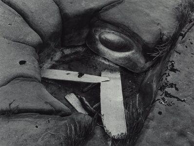 Minor White, 'Driftwood and Eye', 1951