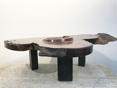J.B. Blunk, 'Burl Coffee Table', 1977