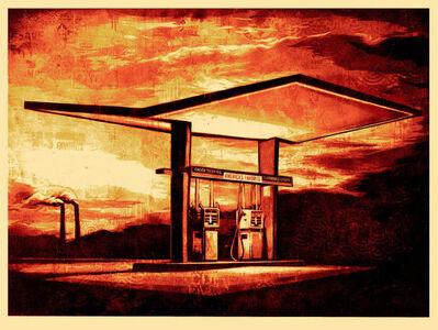 Shepard Fairey, 'America's Favorite - Red', 2010