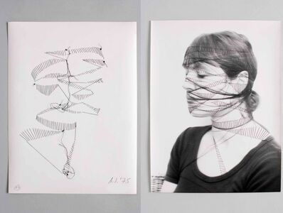Annegret Soltau, 'SELBST #19', 1975