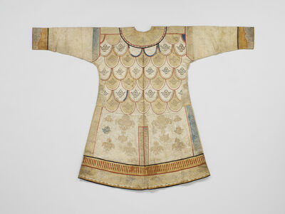 'Woman's party coat ', Second half of the 19th century