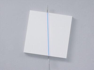 François Morellet, 'Canvas 10° - 100°, centre 90°', 2003
