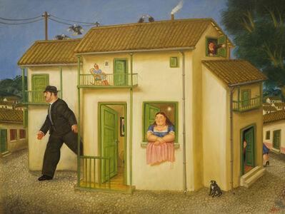 Fernando Botero, 'House', 1995