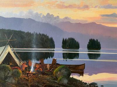 Nicholas Coleman, 'Campfire at Dusk', 2019