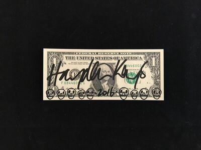 Hayden Kays, 'I Need A Dollar (Skull Doodles)', 2016