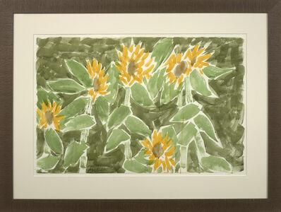 Stephen Pace, 'Six Sunflowers, Five Stalks', 2001