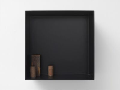 Edmund de Waal, 'the ten thousand things, for John Cage, VI', 2015