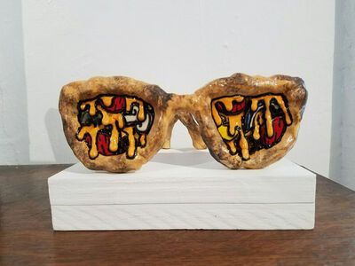 Ashley Bevington, 'Pizza Sunglasses', 2018