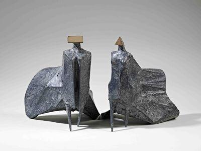 Lynn Chadwick, 'Walking Cloaked Figures', 1978