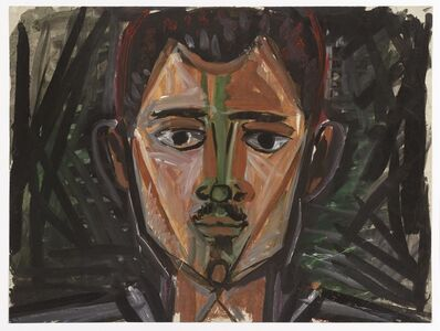 John Craxton, 'Head of a Man', ca. 1960