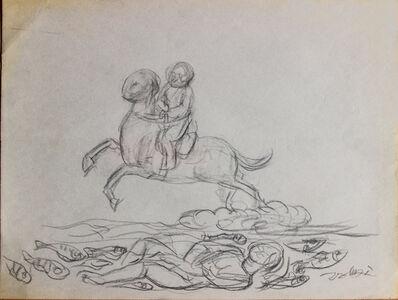 Pei Zhuangxin, 'Sketch ⼿稿《⾶翔的夢想》', 2005