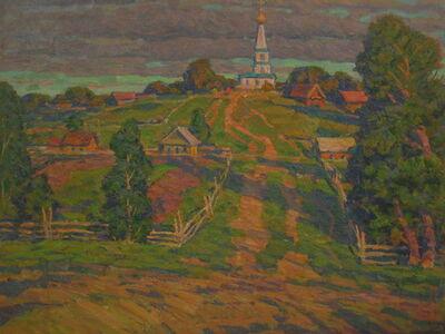 Boris Sergeevich Pushkov, 'The road to the church', 1995