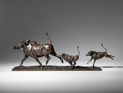 Mark Coreth, 'Warthog Family', 2016