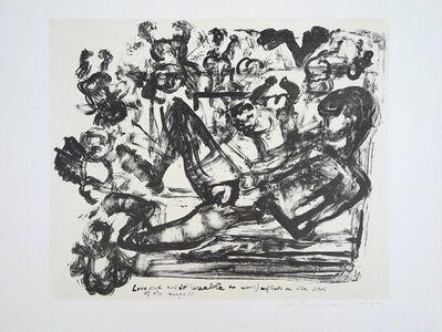 Marlene Dumas, 'Lovesick Artist', 1989