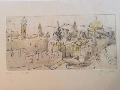Judith Yellin Ginat, 'City of Jerusalem', 20th Century