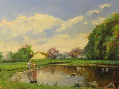 Vladimir Nasonov, 'Near the Pond'