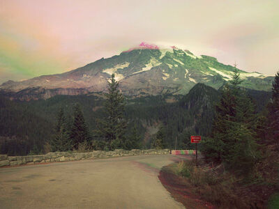 Peter Funch, 'Mt. Rainier from Stevens Canyon Road. Inspiration Point', 2015